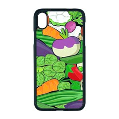 Vegetables Bell Pepper Broccoli Iphone Xr Seamless Case (black)