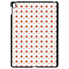 Background Flowers Multicolor Apple Ipad Pro 9 7   Black Seamless Case by HermanTelo