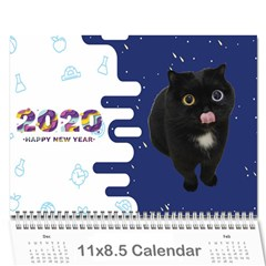 Black Cat 2021 Cal Wall Calendar 11 X 8 5 (12-months)