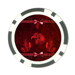 Awesome Eagle Poker Chip Card Guard (10 Pack) by FantasyWorld7