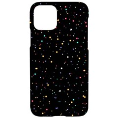 Abstract Colorful Glitters Background Vector Iphone 11 Pro Black Uv Print Case