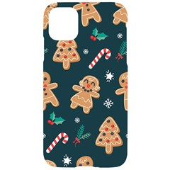Colourful Funny Christmas Pattern Iphone 11 Black Uv Print Case by Vaneshart