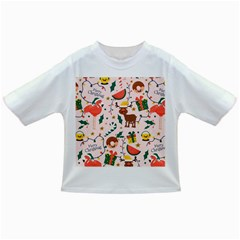 Colorful Funny Christmas Pattern Merry Xmas Infant/toddler T-shirts