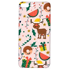 Colorful Funny Christmas Pattern Merry Xmas Iphone 7/8 Plus Soft Bumper Uv Case by Vaneshart