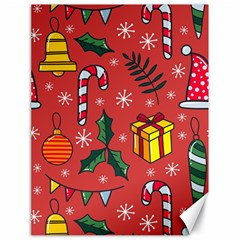 Colorful Funny Christmas Pattern Canvas 18  X 24