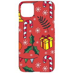 Colorful Funny Christmas Pattern Iphone 11 Pro Max Black Uv Print Case