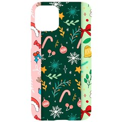 Hand Drawn Christmas Pattern Collection Iphone 11 Pro Black Uv Print Case