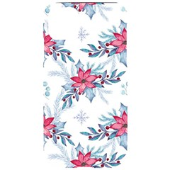 Watercolor Christmas Floral Seamless Pattern Iphone 11 Pro Max Black Uv Print Case