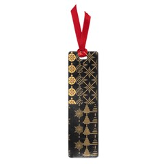 Golden Christmas Pattern Collection Small Book Marks by Vaneshart