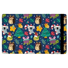 Colorful Funny Christmas Pattern Apple Ipad Pro 9 7   Flip Case