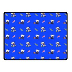 Print  Double Sided Fleece Blanket (small)