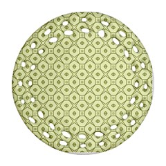 Df Codenoors Ronet Double Faced Blanket Ornament (round Filigree)
