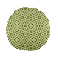 Df Codenoors Ronet Double Faced Blanket Standard 15  Premium Round Cushions