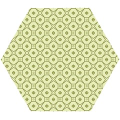 Df Codenoors Ronet Double Faced Blanket Wooden Puzzle Hexagon