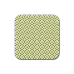 Df Codenoors Ronet Rubber Square Coaster (4 Pack)