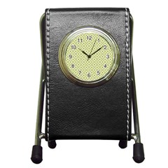 Df Codenoors Ronet Pen Holder Desk Clock