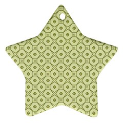 Df Codenoors Ronet Star Ornament (two Sides)