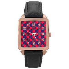 Df Wyonna Wanlay Rose Gold Leather Watch