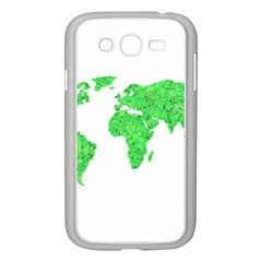 Environment Concept World Map Illustration Samsung Galaxy Grand Duos I9082 Case (white) by dflcprintsclothing