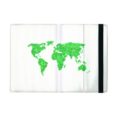 Environment Concept World Map Illustration Ipad Mini 2 Flip Cases by dflcprintsclothing