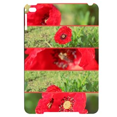 Photos Collage Coquelicots Apple Ipad Mini 4 Black Uv Print Case
