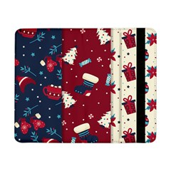 Flat Design Christmas Pattern Collection Art Samsung Galaxy Tab Pro 8 4  Flip Case by Vaneshart