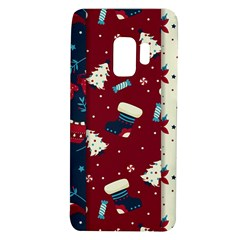 Flat Design Christmas Pattern Collection Art Samsung Galaxy S9 Tpu Uv Case