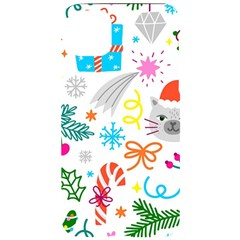 Funny Christmas Pattern Iphone 11 Pro Max Black Uv Print Case