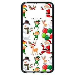 Seamless Pattern Christmas Samsung Galaxy S8 Black Seamless Case