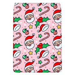 Colorful Funny Christmas Pattern Santa Claus Removable Flap Cover (l)