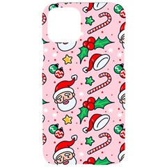 Colorful Funny Christmas Pattern Santa Claus Iphone 11 Pro Black Uv Print Case
