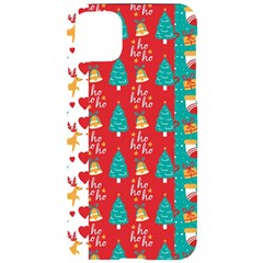 Funny Christmas Pattern Hohoho Iphone 11 Pro Max Black Uv Print Case