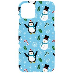 Colorful Funny Christmas Pattern Cartoon Iphone 11 Pro Black Uv Print Case