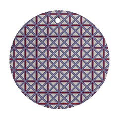 Df Donos Grid Ornament (round) by deformigo