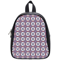 Df Donos Grid School Bag (small) by deformigo