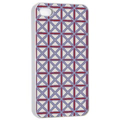 Df Donos Grid Iphone 4/4s Seamless Case (white) by deformigo