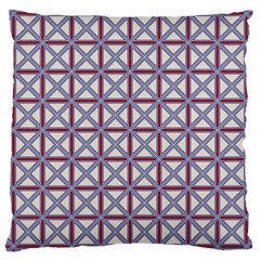 Df Donos Grid Large Cushion Case (two Sides) by deformigo