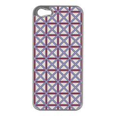 Df Donos Grid Iphone 5 Case (silver) by deformigo
