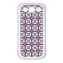 Df Donos Grid Samsung Galaxy S3 Back Case (white) by deformigo