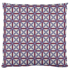 Df Donos Grid Large Flano Cushion Case (two Sides) by deformigo