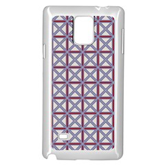 Df Donos Grid Samsung Galaxy Note 4 Case (white) by deformigo