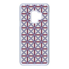 Df Donos Grid Samsung Galaxy S9 Seamless Case(white) by deformigo