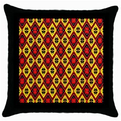 Rby 112 Throw Pillow Case (black)