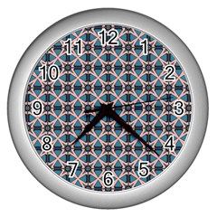 Df Alhambrine Cetta Wall Clock (silver) by deformigo