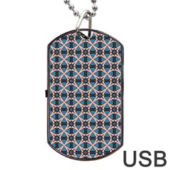 Df Alhambrine Cetta Dog Tag Usb Flash (two Sides) by deformigo