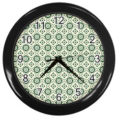Df Agnosia Velis Wall Clock (black) by deformigo