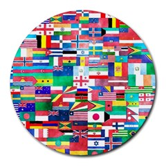 International Round Mousepads by mccallacoulture