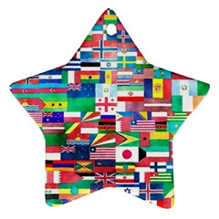 International Star Ornament (two Sides) by mccallacoulture