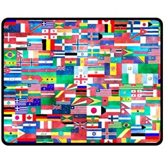 International Double Sided Fleece Blanket (medium)  by mccallacoulture