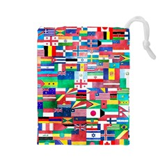 International Drawstring Pouch (large) by mccallacoulture